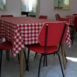 Vendégház konyha/étkező